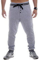 Young & Rich Baggy Jogging Hose Freizeithose Sweatpants 3311 grau