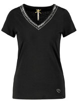 Key Largo Damen T-Shirt  MILA V-Neck WT00211 schwarz