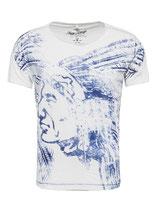 Key Largo Herren T-Shirt rundhals Vintage NATIVE round kurzarm MT00212 offwhite weiß