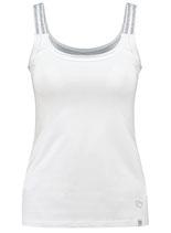 Key Largo Damen T-Shirt Mädchen Frauen Sexy Top LISSY round rundhals WT00232 weiß
