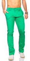 Rerock Herren Chino-Hosen Stoffhosen RR-3341 grün