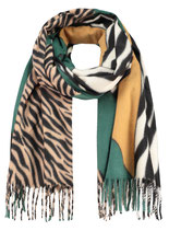 Key Largo Herren / Damen Unisex Schal KALAHARI scarf Tuch WA00034 grün