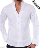 Rerock Hemd NIGHTY langarm 75110 weiß