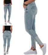 M.O.D by Miracle of Denim Damen Jeans Hose Vinatge ELLEN Skinny Houston blue hellblau