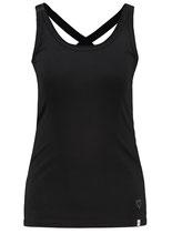 Key Largo Damen T-Shirt Mädchen Sexy Tank-Top LUCY New round rundhals WT00117 schwarz