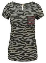 Key Largo Damen T-Shirt EXPLORE round rundhals kurzarm camouflage WT00161 khaki