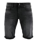 M.O.D Miracle of Denim Herren Jeans-Shorts Caprijeans Bermuda dunkelblau Thomas Akita black schwarz