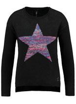 Key Largo Damen warme Pullover WKN GLOW round rundhals WKN00033 schwarz