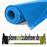 PVC LKW Plane mit ca. 650 - 680g/m² ähnlich RAL 5012 Hellblau