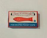 Schlüsselanhänger Taschenmesser Fisch