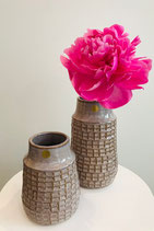 hübsch Keramikvase Struktur