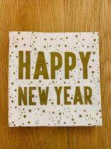 Serviette HAPPY NEW YEAR
