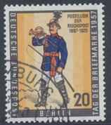 BERL 176 gestempelt