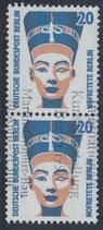 BERL 831   gestempelt senkrechtes Paar