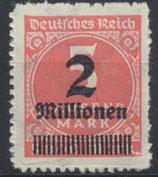 DR 312 B postfrisch