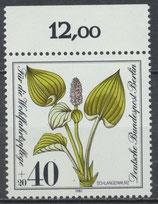 650 postfrisch Bogenrand oben (RWZ 12,00) (BERL)