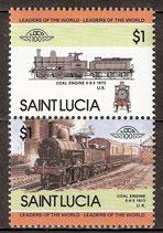 722-723 postfirsch (St. Lucia Eisenbahn)