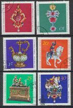DDR 1682-1687 philat. Stempel (1)