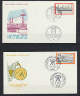 BRD 761-762 FDC 2 Briefe (1)