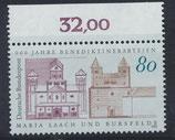 BRD 1671 postfrisch mit Bogenrand oben