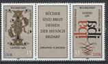 DDR 2697-2698 postfrisch Dreierstreifen