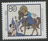 1233   postfrisch  (BRD)