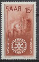 358 postfrisch (SAAR)