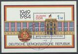 DDR Block 77     2890 gestempelt