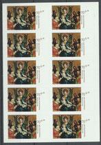 3345 (10x) postfrisch Folienblatt (BRD)