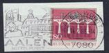 BRD 1209 gestempelt auf Briefstück