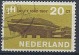 NL 871 gestempelt