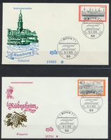 BRD 761-762 FDC 2 Briefe (2)