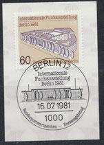 BERL 649   mit Ersttagsonderstempel