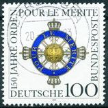 BRD 1613 gestempelt
