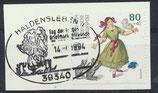 BRD 1726 gestempelt auf Briefstück