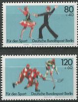 698-699  postfrisch   (BERL)