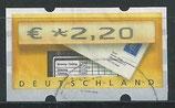 BRD-ATM 5 - 220 gestempelt