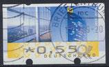 BRD-ATM 7 - 55 gestempelt