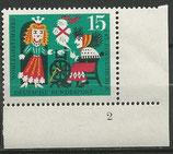 239  postfrisch  mit Eckrand rechts unten Formnummer 2 (BERL)