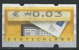 BRD-ATM 5 - 3 gestempelt