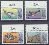552-555 postfrisch Bogenrand oben (BERL)