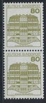 BRD 1140 AI postfrisch senkrechtes Paar