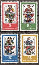 1298-1301 postfrisch (DDR)