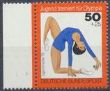 BRD 884 postfrisch Bogenrand links