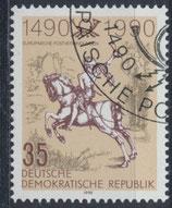 DDR 3299 philat. Stempel (2)