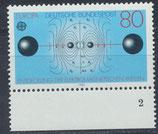 BRD 1176 postfrisch mit Bogenrand unten