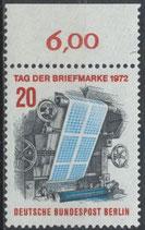 BERL 439  postfrisch mit Bogenrand oben