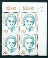 1304 Viererblock Eckrand rechts oben (BRD)