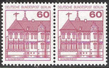 BERL 611 postfrisch waagrechtes Paar