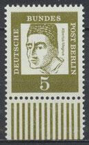199 postfrisch Bogenrand unten (BERL)